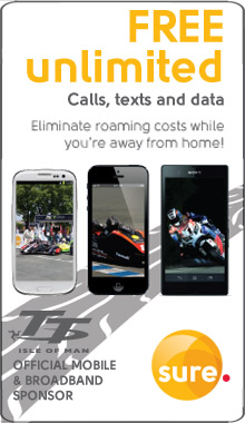 Sure Mobile 2014 Isle of Man TT advert 2